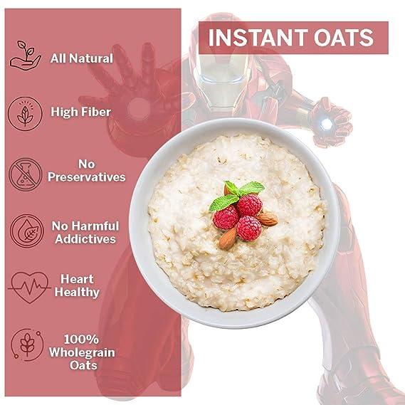 instant oat ja kaalulangus
