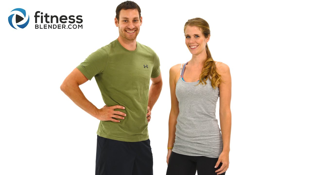 fitnessblender day 2 poletage rasva