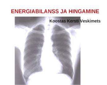 hingamine hapniku poleb rasva