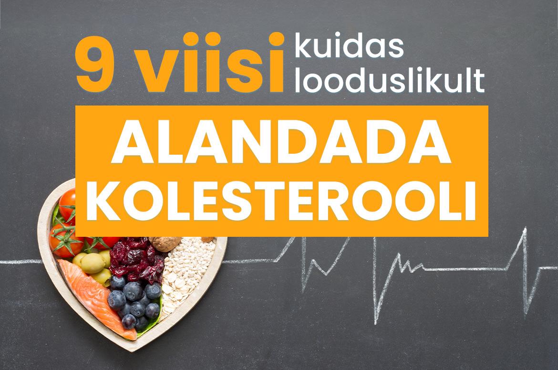 madal kolesterooli kaalulangus