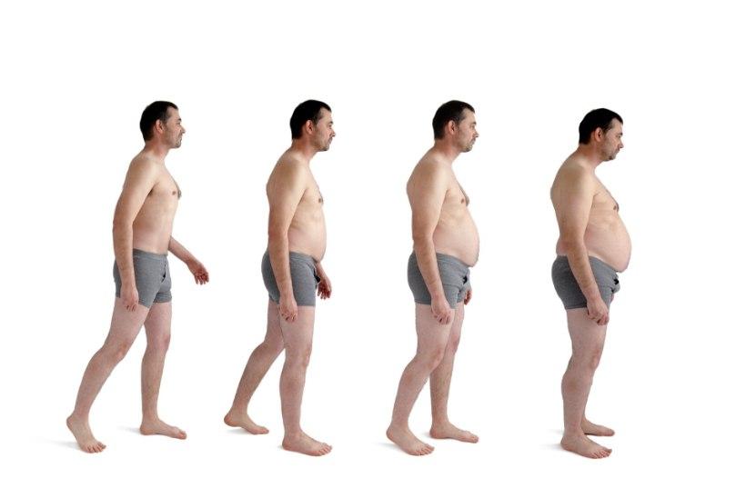mis juhtub keha kaalulanguse ajal